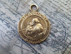 ON SALE Saint Anthony Patron Of Lost Things / by AveImmaculata