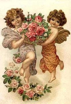 antique  and vintage .victorian cards   ... too late to email your Valentine a free vintage card today at TIAS.com