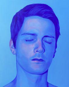 Strange Beauties, série de retratos em pintura de Jen Mann