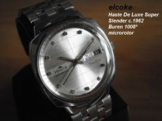 Another Haste, strait from Mexico... but, is it?  Well, another example that Mr. Harry Steel (creator of Haste, Steelco, Sydney, and probably other brands) had great taste. He not onl bought fine swiss calibers, he even bought the whole watch and re-branded it. this is a Fortis True Line, and as it happend with the Fairline and Skylark, Mr. Steel got hold of this designs and sold them as the Mexican Watch. Today, many people ignore that this old things are very high quality pieces of…