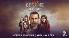 Kanal D'nin yeni dizisi Adı Efsane bu akşam başlıyor