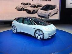 Au Mondial de Paris, Volkswagen a dévoilé un concept de voiture électrique offrant 600 km d'autonomie pour un tarif équivalent à une Golf diesel