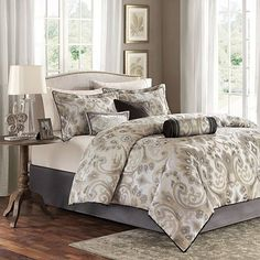 Like the grey and tan neutral pattern