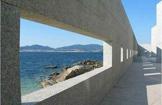 Museo do Mar de Galicia : Sea Museum of Galicia, Vigo Spain (2002) | Developed by architects Aldo Rossi and César Portela, conducted by Portela after death of Rossi | Rodrigo Portanet