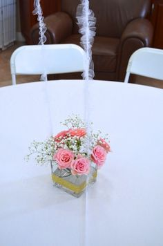 Easy to DIY baby shower centerpiece // MyMommaToldMe.com