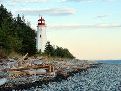 Cape Mudge Lighthouse, Quadra Island, BC