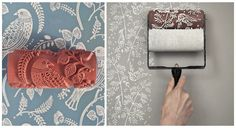 Forget Wallpaper! These Patterned Paint Rollers Are The Coolest Way To Design Your Walls
