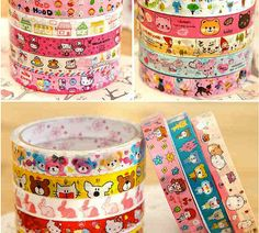 Kawaii Deco Tape by ShipshapeSupply on Etsy, $3.50