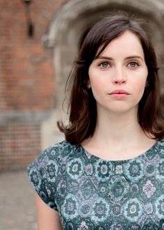Felicity Jones as Jane Hawking (née Wilde) in The Theory of Everything