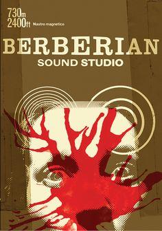 Alternative Berberian Sound Studio artwork, designed by Julian House exclusively for the exhibition at Curzon Soho Graphic Design Books, Graphic Design Inspiration, Graphic Designers, Collage Design, Design Art, Cristiana Couceiro, Sound Studio, Buch Design, Exhibition Poster