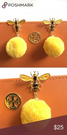🐝 bzzz bzzz bee earring 🐝 New in package. Super cute for summer. archstarshop Jewelry Earrings