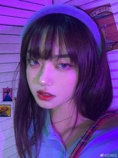Korean Beauty Girls, Pretty Korean Girls, Cute Korean Girl, Asian Beauty, Aesthetic Hair, Bad Girl Aesthetic, Aesthetic Women, Make Up Looks, Korean Girl Photo
