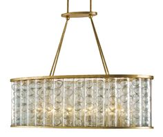 Frinton Rectangular Chandelier design by Currey & Company