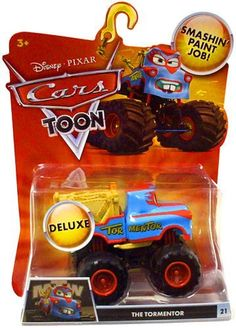 Disney Pixar Cars Toon Die Cast Car Oversized Vehicle Music