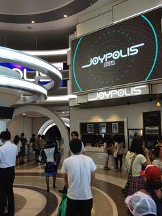 SEGA JOYPOLIS (Odaiba, Tokyo) #japan
