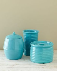 Bauer Earthenware Pottery - fill with fresh flowers or cookies for a housewarming gift.