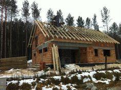 Kolejny etap budowy domu na podstawie projektu Gala z MG Projekt.  #strop #budowa #gala #projektdomu