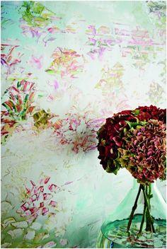 New Wallpaper collection by British artist Jessica Zoob for Romo Black Edition : Jessica Zoob - British Contemporary Artist