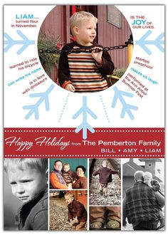 Neat Christmas Card idea