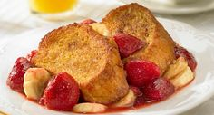 Sweet and fruity, Overnight French Toast makes a delicious addition to your brunch or breakfast table.