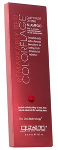 Giovanni Cosmetics -Colorflage Remarkably Red Shampoo @LeapingBunny certified cruelty free!