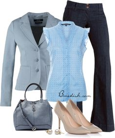 Simple Style for a Gorgeous Look : 31 Casual Work Outfits Polyvore Ideas - Be Modish - Be Modish