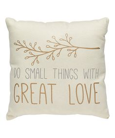 Loving+this+'Great+Love'+Throw+Pillow+on+#zulily!+#zulilyfinds. I love this branch design!