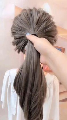 Thick Hair Updo, Hairstyles For Medium Length Hair Easy, Easy Updos For Medium Hair, Thick Hair Styles Medium, Step By Step Hairstyles, Haircut For Thick Hair, Work Hairstyles, Easy Hairstyles For Long Hair, Long Hair Styles