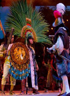 A journey through Mexico´s History at Xcaret Mexico Espectacular.