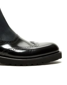 CHELSEA LEATHER BOOT WITH RUBBER SOLE – BURATTI - Shoes Man - Alberto Guardiani Man