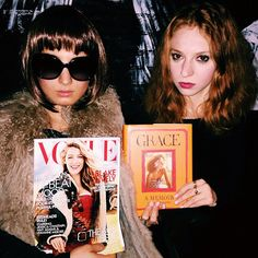 Pin for Later: 37 Iconic Costumes to Inspire Your Halloween Plans Anna Wintour and Grace Coddington