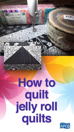 Learn how to make a jelly roll quilt! The extremely popular jelly rolls normally include between 24 and 40 strips of fabric, each cut 2 ½ inches wide. The rolls may include all the fabrics within a specific line, or may be based on color value. Sometimes the strips will be from all different fabrics, and other times you'll find duplicates.