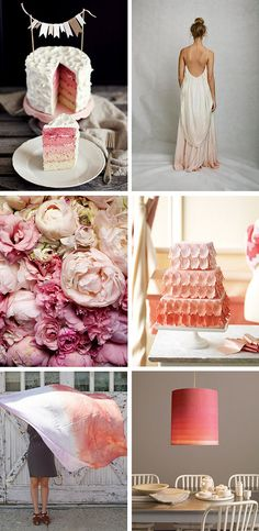 love this trend... so gorgeous and floatatious (not that I think that's a word but it sums it up!) ombre - french for gradation... so gentle and unassuming... :)