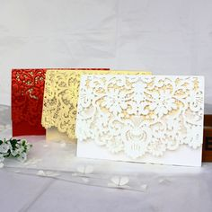 Beautiful Wedding Invitations  Price: 20.79 & FREE Shipping  #wedding|#weddingdress|#weddingstyle|#brideandgroom Laser Cut Wedding Invitations, Beautiful Wedding Invitations, Elegant Invitations, Wedding Favours, Invitation Cards, Wedding Bouquets, Wedding Reception, Wedding Gifts, Reception Areas