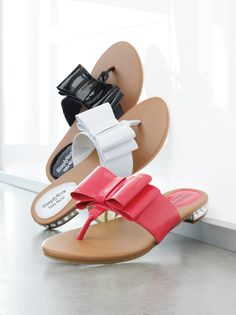 Fashionable yet easygoing. Simply Vera Vera Wang #sandals #Kohls