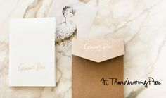 My own personalized stationery like Garance Dore by thunderwing
