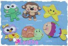 Leskka - Arte em e.v.a Map Crafts, Educational Games, Handicraft, Pixel Art, Safari, Pikachu, Projects To Try, Bunny, Dolls
