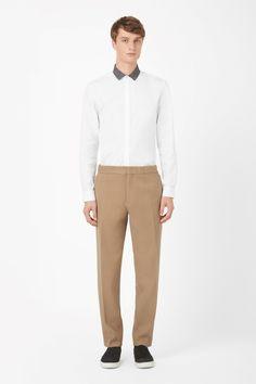 COS | Zip-tab trousers