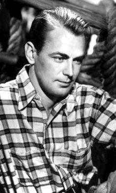 Alan Ladd, movie star 1940s - 50s