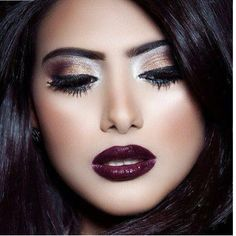 Dark Wedding Makeup Make Up Dramatic Wedding Makeup, Wedding Eye Makeup, Wedding Makeup For Brunettes, Dramatic Eye Makeup, Dramatic Eyes, Dark Makeup, Makeup Set, Smokey Eye Makeup, Lip Makeup