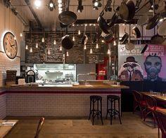 Spiler bistro pub, Budapest hotels and restaurants Pub Design, Retail Design, Bistro Design, Cafe Bar, Pub Bar, Bistro Bar, Design Bar Restaurant, Budapest Restaurant, Bistro Restaurant
