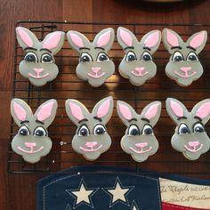 Zootopia cookies  Officer Judy Hopps