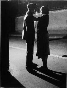 Couple d'amoureux, rue Croulebarbe, quartier Italie