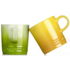 Omg.  New Green Le Creuset collection affectionately known as 'Kiwi'.  Amazing.