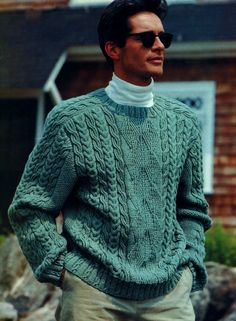 f99f14e82701 Great classic saddle shoulder styling combines with both timeless guernsey  and cable stitches for a rich