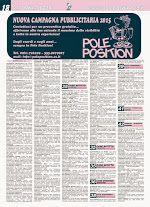 Pole Position 607 - edizione del 15 gennaio   Per sfogliare la rivista on line, collegati al nostro portale www.poleposition.cz.it oppure:   clicca qui per scaricare il file del giornale in formato pdf http://www.poleposition.cz.it/giornale_607_web.pdf  clicca qui per il giornale in formato rivista http://issuu.com/poleposition.cz/docs/giornale_607_web