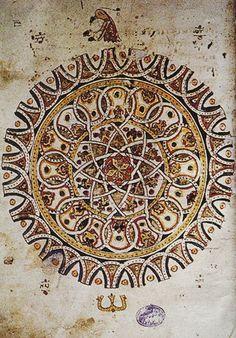 Book of Isaiah, 1373, Byzantine / Sacred Geometry