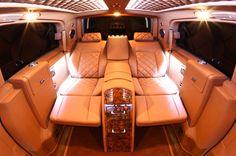 Mercedes-Benz Viano Van Conversion is the Lap of Luxury
