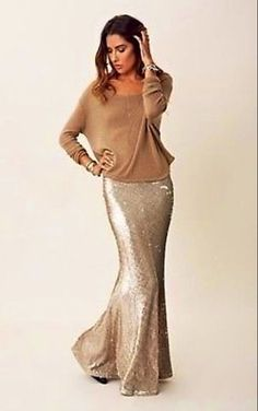 Sequins for Miles Maxi Skirt | Maxi skirts, Skirts and Sequin skirt