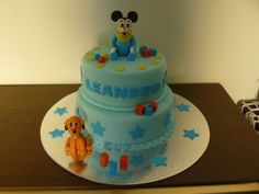 Mickey e Pluto bebe